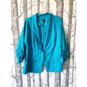 torrid Jackets & Coats - //TORRID// Bright Blue Blazer